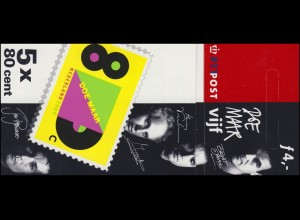 Markenheftchen 60 Comeback der Musikgruppe Doe Maar 2000, **