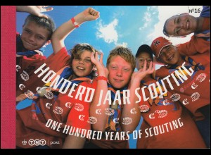 Markenheftchen 73 Europäische Pfadfinder - Scouting 02/2007 (PR 16), **