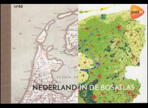 Markenheftchen 85 Die Niederlande im Bos-Schulatlas 03/2012 (PR 40), **