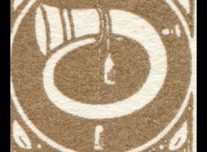728I Posthorn 12 g mit PLF I ohne Schnur ** postfrisch