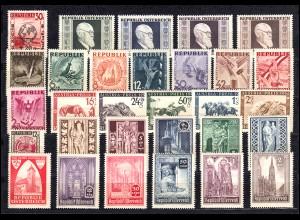 771-800 Österreich-Jahrgang 1946 komplett, postfrisch **