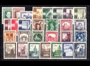801-853 Österreich-Jahrgang 1947 komplett, postfrisch **