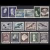 981-995 Österreich-Jahrgang 1953, 15 Marken komplett, postfrisch **
