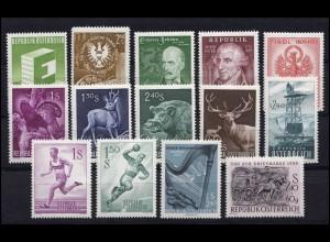1059-1072 Österreich-Jahrgang 1959 komplett, postfrisch