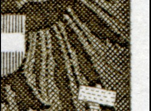 1075I Adolf Schärf mit PLF I kurze Feder rechts, Felder 2 und 7, **