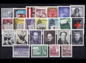 1177-1200 Österreich-Jahrgang 1965 komplett, postfrisch