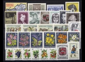 1201-1230 Österreich-Jahrgang 1966 komplett, postfrisch
