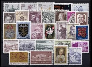 1353-1380 Österreich-Jahrgang 1971 komplett, postfrisch