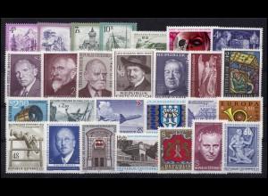 1410-1436 Österreich-Jahrgang 1973 komplett, postfrisch