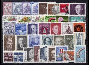 1437-1473 Österreich-Jahrgang 1974 komplett, postfrisch