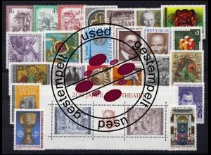 1506-1539 Österreich-Jahrgang 1976 komplett, gestempelt