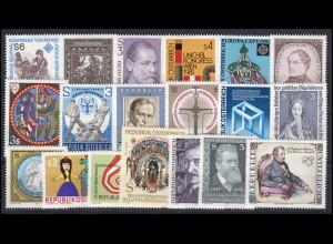 1664-1694 Österreich-Jahrgang 1981 komplett, postfrisch