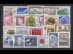 1728-1762 Österreich-Jahrgang 1983 komplett, postfrisch **