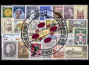 1799-1835 Österreich-Jahrgang 1985 komplett, gestempelt