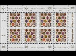 1990 Tag der Briefmarke 1990 - kompletter Kleinbogen, postfrisch