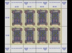 2066 Tag der Briefmarke 1992 - kompletter Kleinbogen, postfrisch