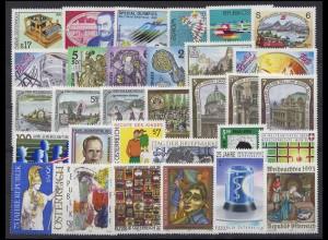 2084-2114 Österreich-Jahrgang 1993 komplett, postfrisch