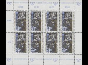 2097 Tag der Briefmarke 1993 - kompletter Kleinbogen, postfrisch