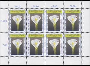 2305 Internationale Gartenschau 2000 - kompletter Kleinbogen, postfrisch