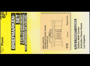 Österreich MH 0-12 Kunsthäuser Schindler House Los Angeles , postfrisch **