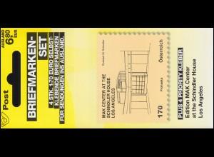 Österreich MH 0-15 Kunsthäuser Schindler House Los Angeles, postfrisch **