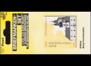 Österreich MH 0-36 Impressionen Burg Forchtenstein, postfrisch **