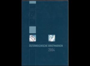 Jahreszusammenstellung der Österreichischen Post 2004 ** postfrisch