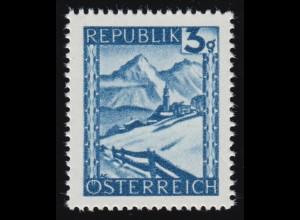 738 Landschaften 3 g Lermoos/Tirol, postfrisch **