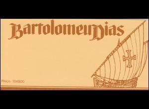Portugal-Markenheftchen 4 Reise von Bartolomeu Diaz, postfrisch
