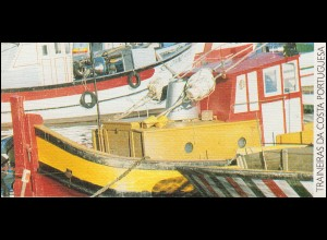 Portugal-Markenheftchen 11 Küstenfischerei Schleppnetzschiffe 1994, postfrisch