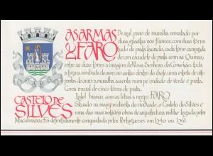 Portugal-Markenheftchen 1709 BuS Kastell Silves, postfrisch