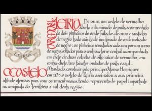 Portugal-Markenheftchen 1721 BuS Kastell Leiria, ESSt 10.4.87