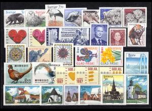 1976-2031 Schweden-Jahrgang 1997 komplett, postfrisch **