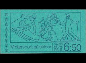 Markenheftchen 44 Skisport , **