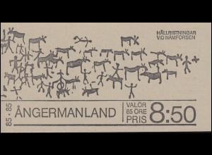 Markenheftchen 56 Tourismus - Provinz Angermanland, **