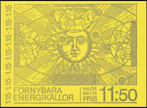 Markenheftchen 77 Regenerative Energiequellen, **