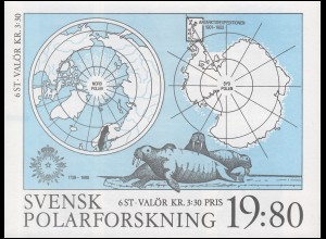 Markenheftchen 141 Polarforschung, **