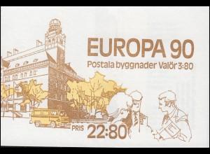 Markenheftchen 148 Europa / CEPT - Postalische Einrichtungen, **