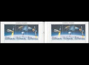 Markenheftchen 159 Europa / CEPT - Europäische Weltraumfahrt, mit FN 1 **