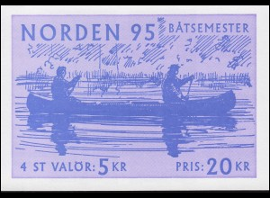 Markenheftchen 204 NORDEN - Tourismus: Passagierschiff und Segeljacht, **