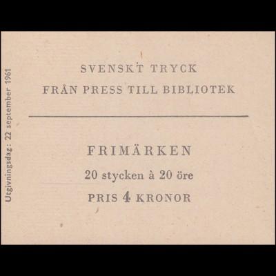 Markenheftchen Nationalbibliothek 20x 476D, **