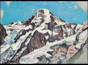 Schweiz 1050 EUROPA Gemälde 1975, PTT-Grußkarte zum Jahreswechsel
