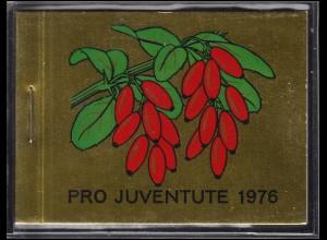 Schweiz Markenheftchen 0-69, Pro Juventute Heilpflanzen 1976, ESSt
