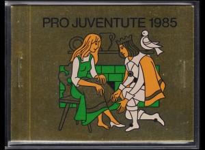 Schweiz Markenheftchen 0-81, Pro Juventute Märchen Schneewittchen 1985, ESSt