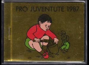 Schweiz Markenheftchen 0-83, Pro Juventute Das Kleinkind 1987, ESSt