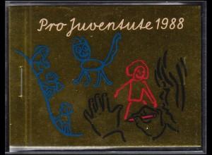 Schweiz Markenheftchen 0-85, Pro Juventute Das Schulkind 1988, ESSt