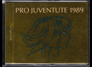 Schweiz Markenheftchen 0-86, Pro Juventute - Jugendliche 1989, **
