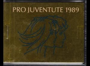 Schweiz Markenheftchen 0-86, Pro Juventute - Jugendliche 1989, ESSt