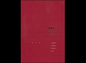PTT-Jahrbuch Schweiz 1994, alle Marken mit Ersttagsstempel