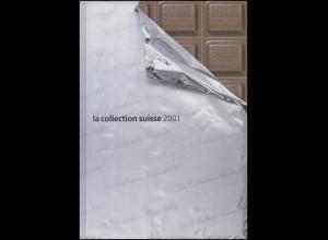 PTT-Jahrbuch Schweiz 2001, postfrisch